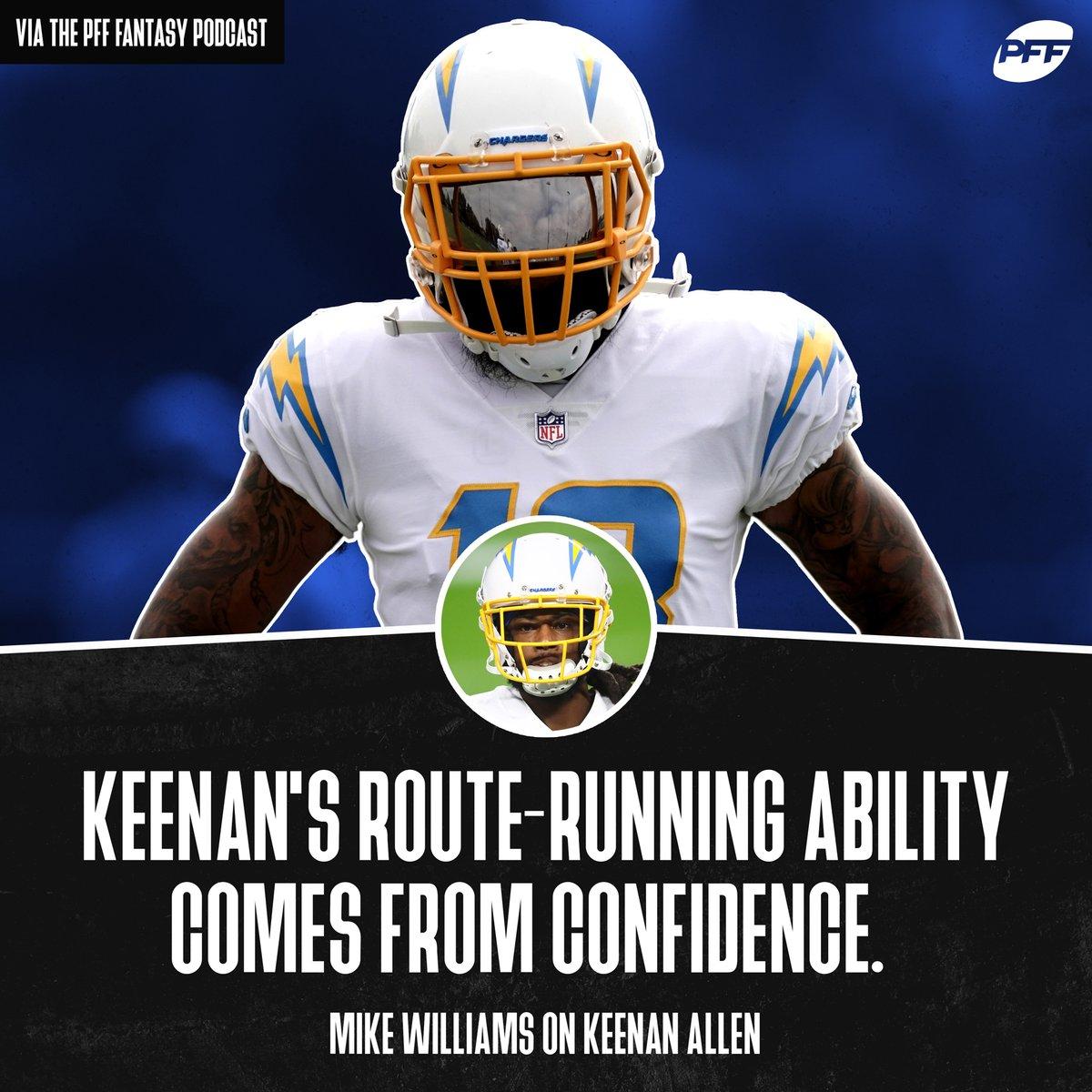 Is Keenan Allen the best route-runner in the NFL? https://t.co/I8GFcBpG1H