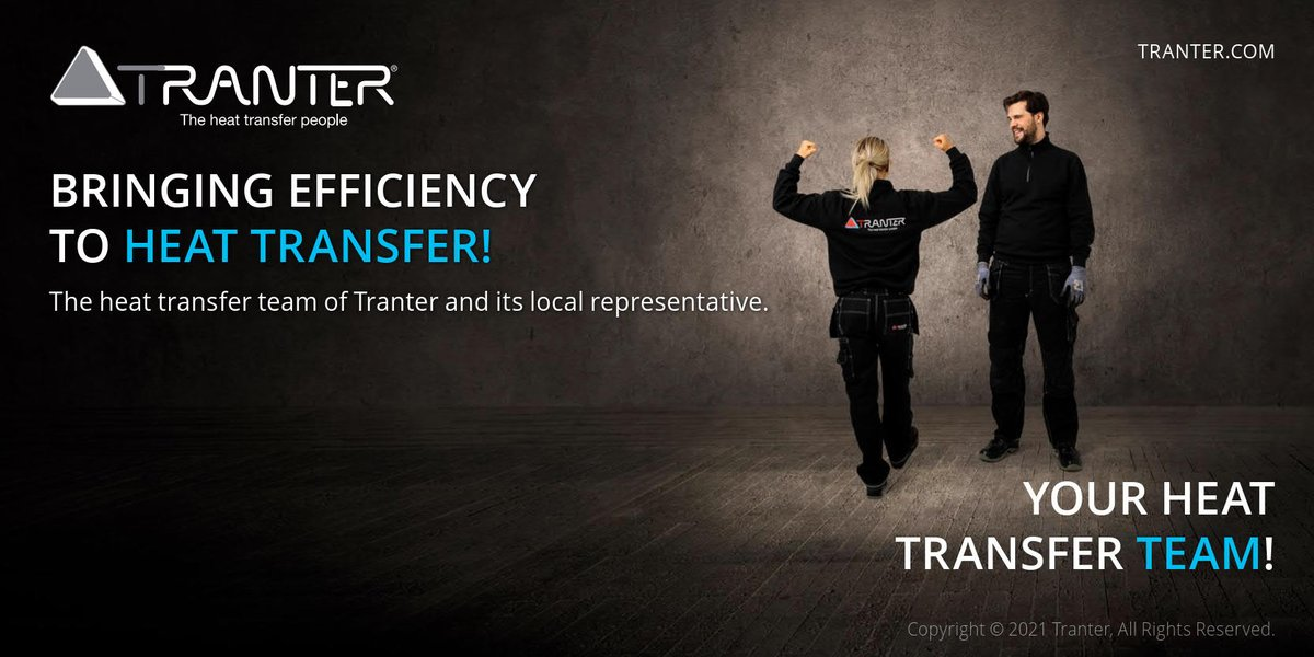 Tranter manufacturer's reps always carry other industrial product lines in addition to the Tranter line, and are thus able to bring Tranter's customers a broad range of solutions for their process needs.   Find the local Tranter Rep for your location: https://t.co/OogZVfCAXH https://t.co/ro7ZoBxI4t