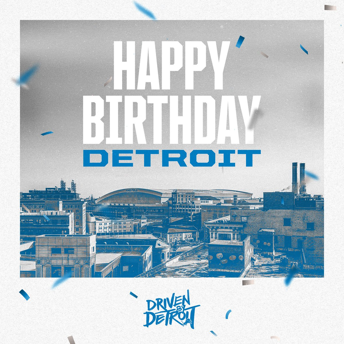 320 years never looked so good, @CityofDetroit! 🎂 https://t.co/w1JF2WQddr