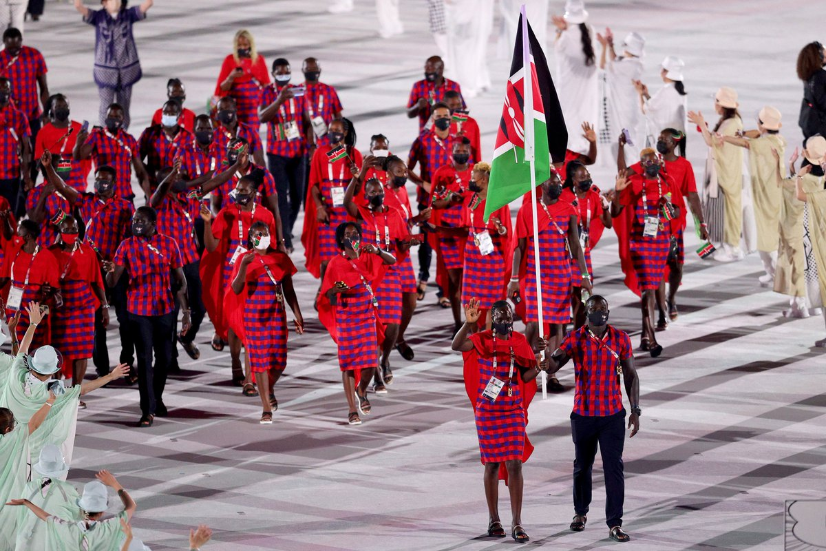 test Twitter Media - Four #Rugby7s stars had the honour of being flagbearers at the Tokyo 2020 #OpeningCeremony  yesterday   🇳🇿 @Sgoss10   🇰🇪 @andrewopede  🇫🇯 Rusila Nagasau 🇨🇦 @NHirayama10   #Rugby #Tokyo2020 https://t.co/ytz4IAl6D7