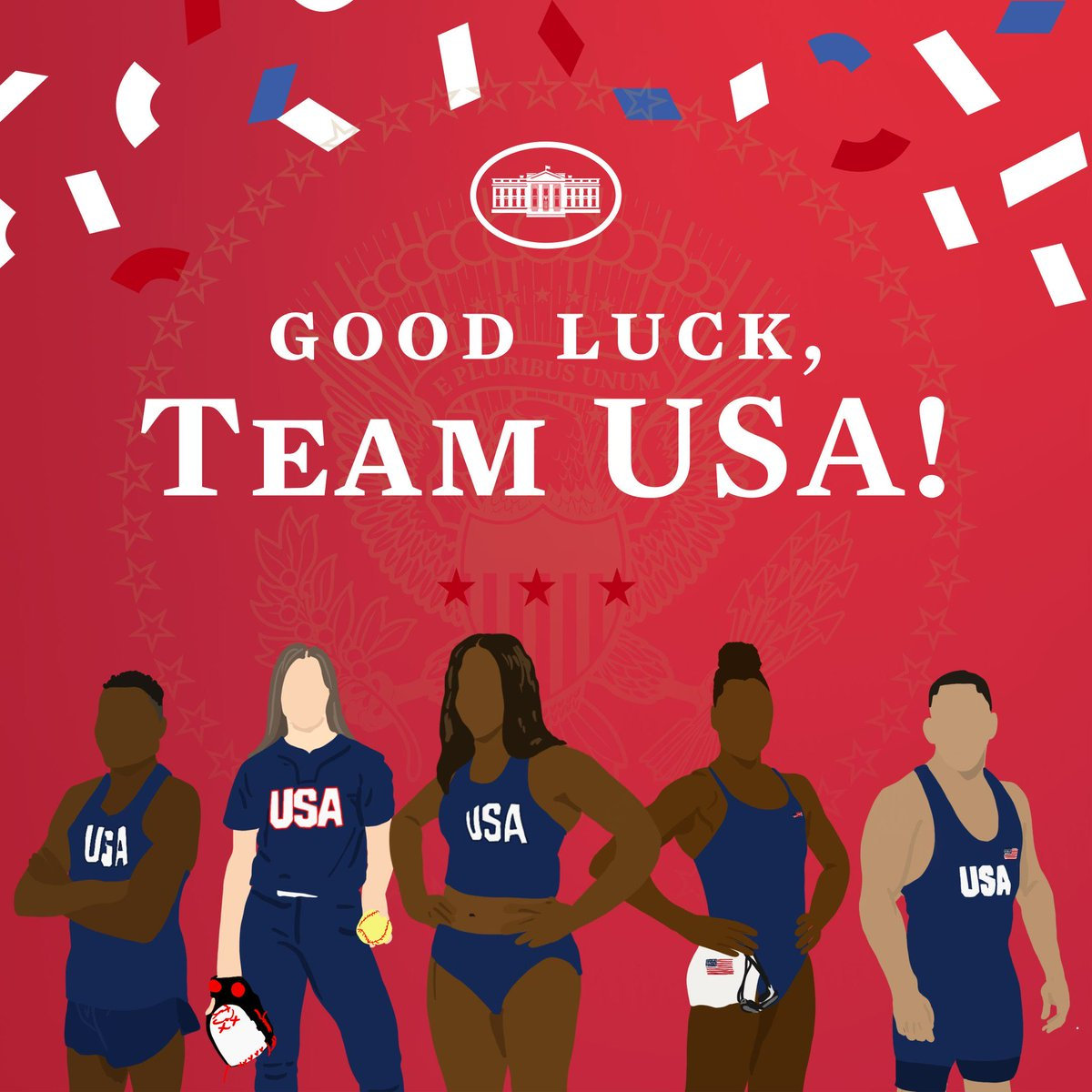 We're cheering you on every step of the way @TeamUSA! https://t.co/SyvZydvsaj
