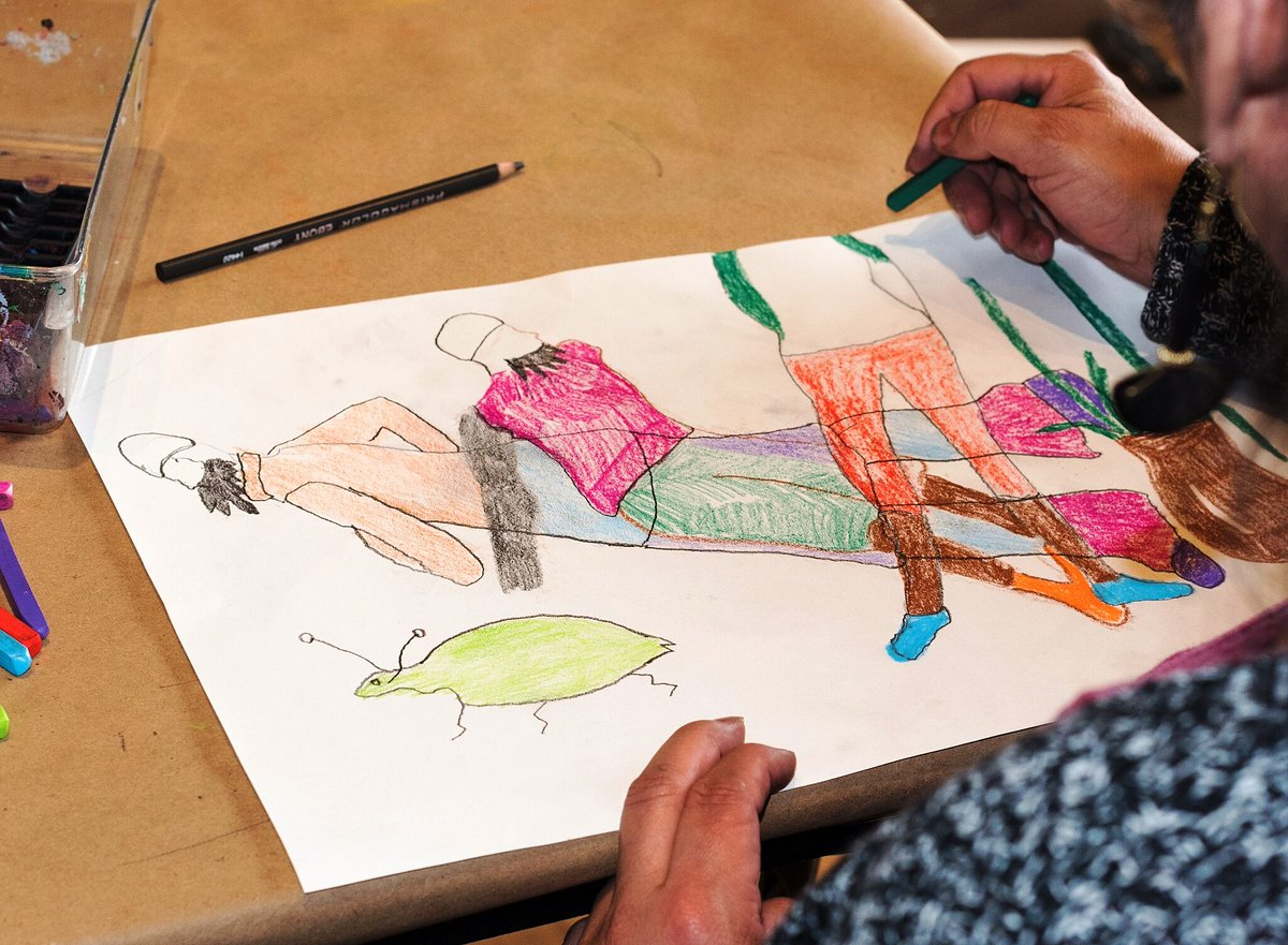 Tomorrow at 11 AM, join @ummamuseum for a Virtual Family Art Studio and get a beginner's introduction to figure drawing. https://t.co/0xESAAZP6r https://t.co/g5jm56iZ0f