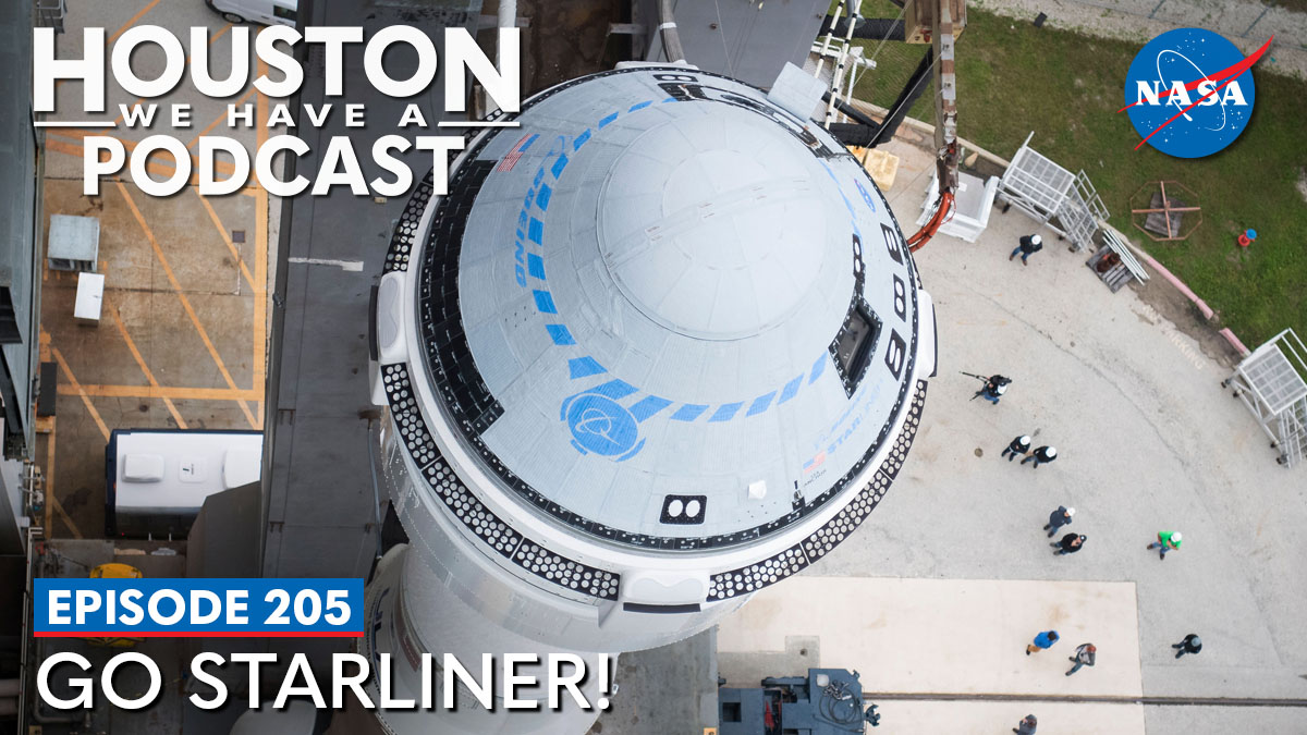 """We are coming up on NASA's @BoeingSpace Orbital Flight Test-2 scheduled for July 30!🚀Learn the details of the mission and what to expect from a @NASAFltDirector on this week's """"Houston We Have a Podcast."""" 🎙️: https://t.co/4bOiKhW939 https://t.co/ojmLefPoMc"""