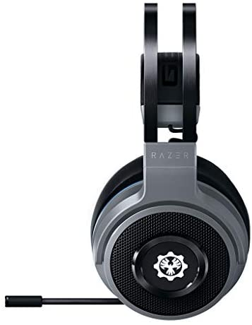 Razer Thresher for Xbox One and Xbox Series X / S (Gears of War 5 Edition) - Wireless Gaming Headset up to 16 Hours Battery Life, 50 mm Controller, Windows Sonic, Leatherette Ear Pads - Silver - https://t.co/uLvO3c3HeF #thevideogames https://t.co/LwLRYVlPZz