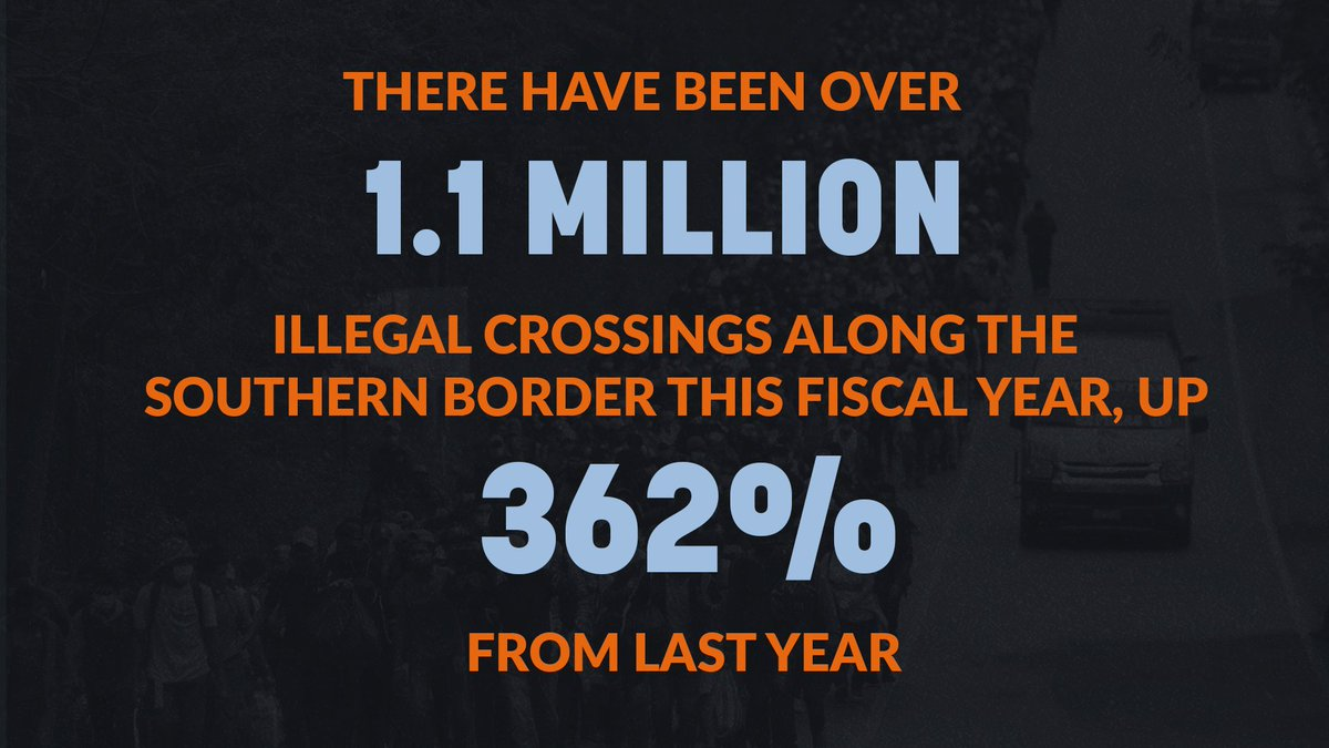 This is President Biden's Border Crisis. https://t.co/W0xjF2tBlP