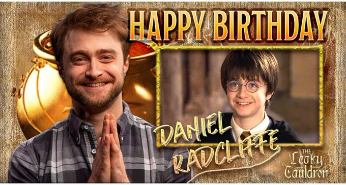Happy 32nd Birthday to the voice of Harry Potter.