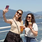 Pictured: Two friends caught mid-selfie with absolutely no shame whatsoever. What can we say, a drink this delicious deserves to Instagrammed! 📷 #BlenzShakenIcedTea