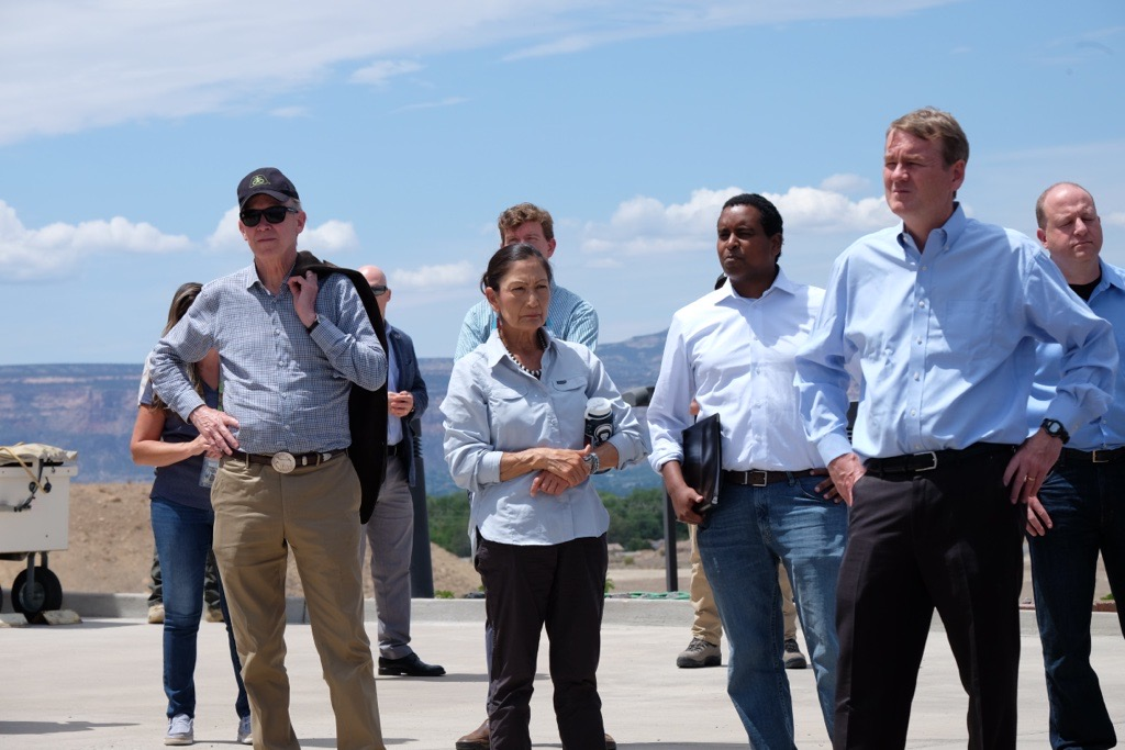 I commend the Colorado congressional delegation, Governor Polis, and the dedicated firefighters, scientists, first responders, and agency professionals who work every day to protect our lands and communities in response to wildland fire. (2/2) https://t.co/wd2OM9e86A