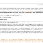 Image for the Tweet beginning: A la comunidad universitaria, con