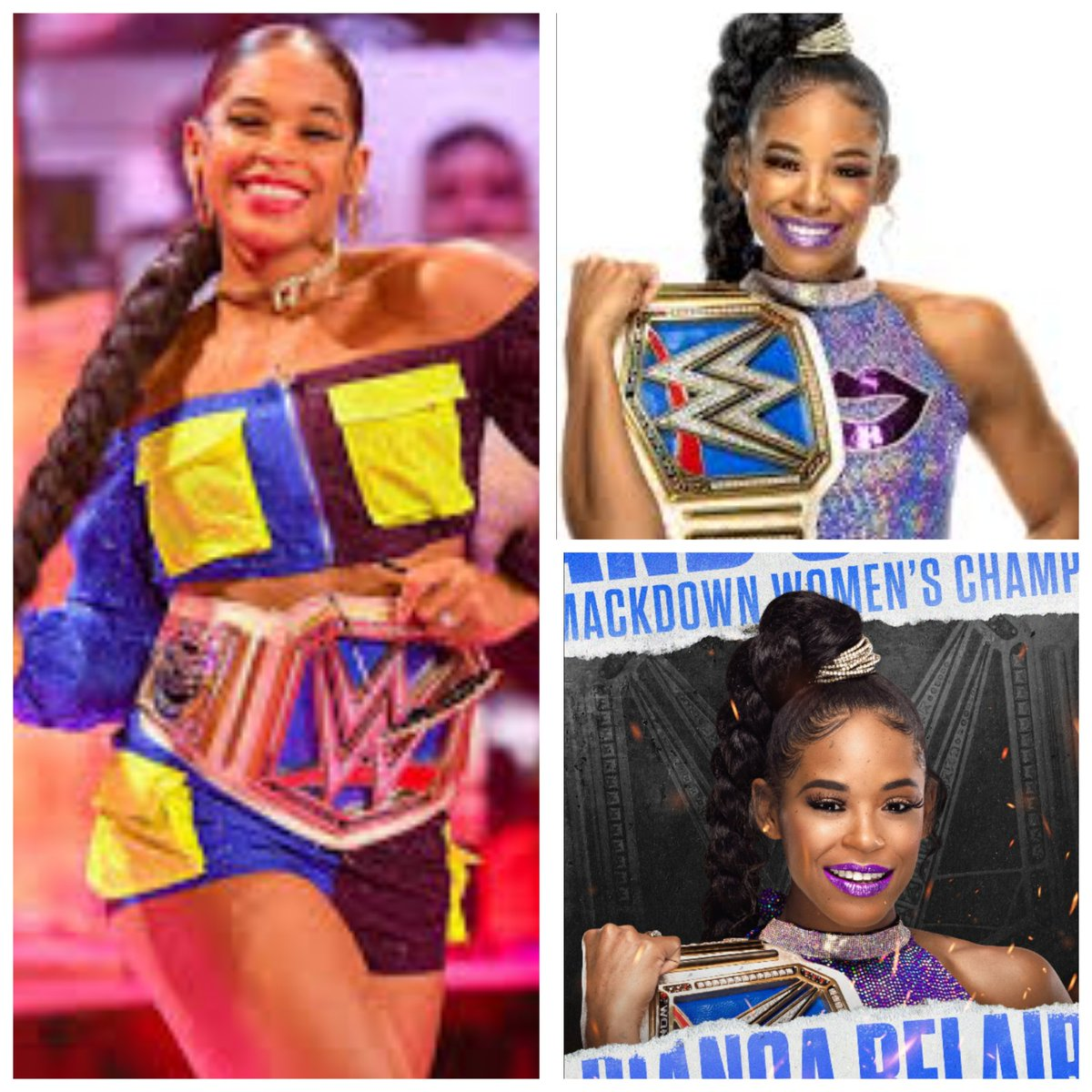 Congratulations to favorite and beautiful superstar and the #SmackDown women champion, The EST of WWE @BiancaBelairWWE on retaining the #SmackDown women championship! #103DaysAndCounting! #AndStill ❤💋👏👏 https://t.co/RV0czGEt4t