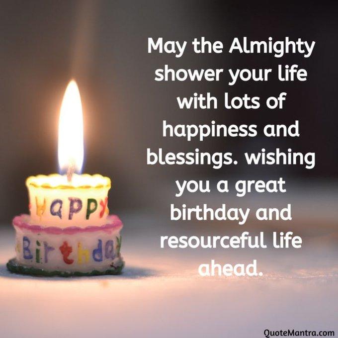 Happy Birthday & God Bless Always