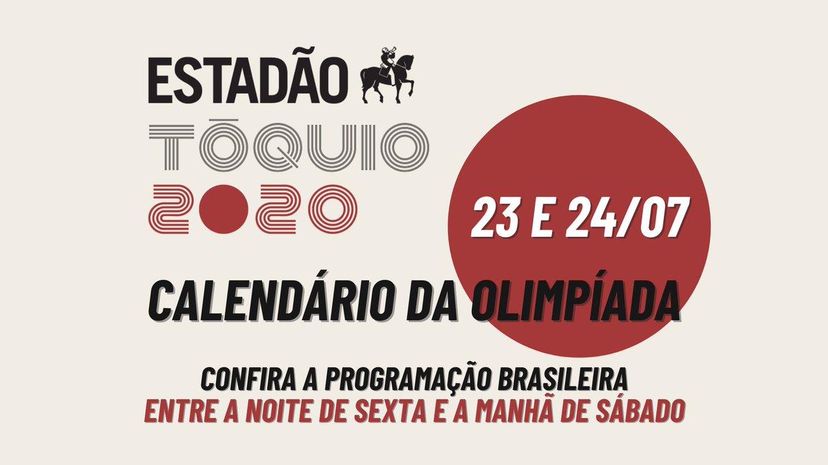 #TOKYO2020 CALENDÁRIO DA OLIMPÍADA  Vem conferir as disputas brasileiras que rolam entre a noite desta sexta (23/7) e a manhã de sábado (24/7) 🇧🇷 https://t.co/KFJfQMd70Y https://t.co/xN6hzchyJk