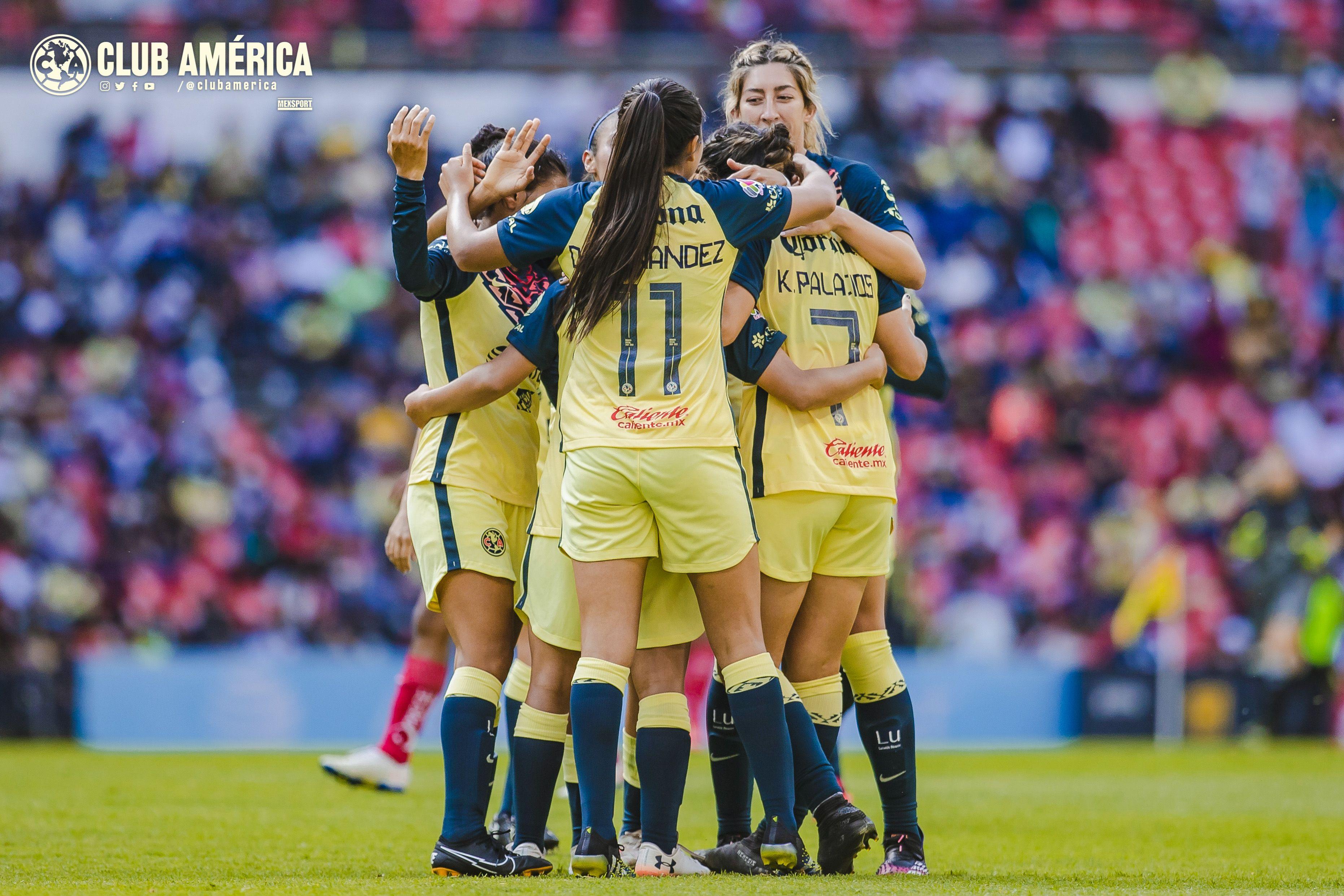 América vs Puebla 3-0 Liga MX Femenil Apertura 2021