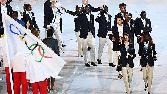 The Refugee Olympic Delegation — stateless but ready for the Olympic stage. https://t.co/qF7q57DlGN