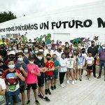 Image for the Tweet beginning: Los jóvenes alumnos de los