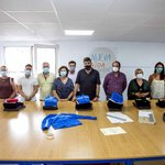 Image for the Tweet beginning: Entregados los diplomas de la