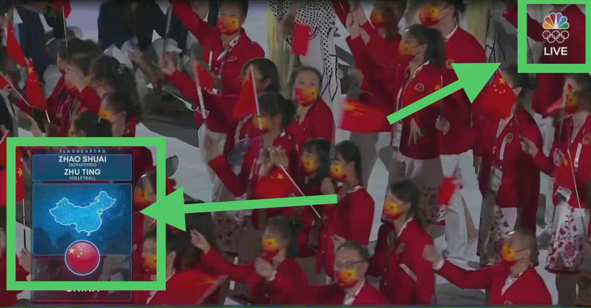 Using a wrong map of #China is a real lack of common sense. Politicizing sports and violating the Olympics Charter spirits will only do harm to the #Olympics Games and the relationship between the #Chinese and the #US people. @NBCSports @SavannahGuthrie https://t.co/sP6AGRXLZI