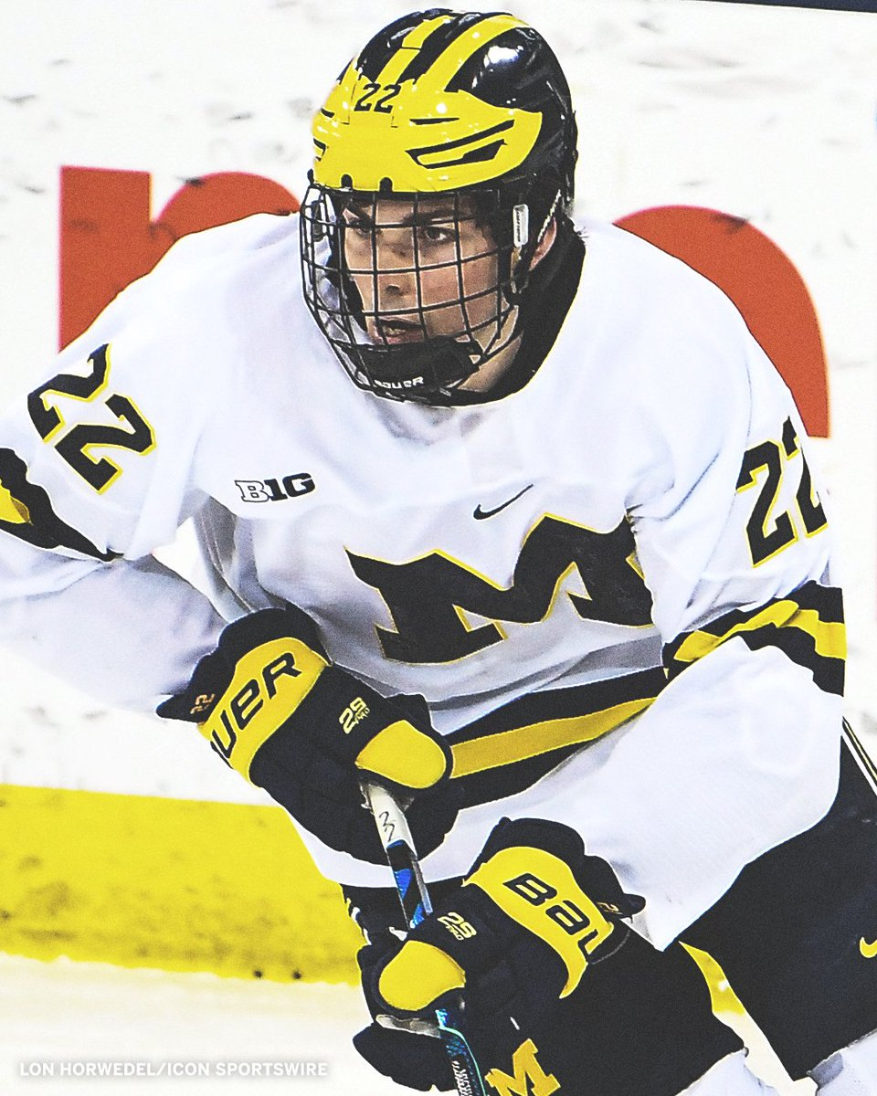 Owen Power, a defensemen from @umichhockey, was selected No. 1 overall by the Buffalo Sabres in the #NHLDraft.  The first No. 1 overall pick from the NCAA since 2000.   📺: ESPN2 https://t.co/PvBSMT8iWb