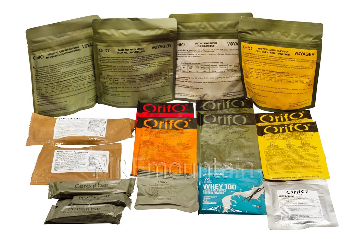 NEW Dutch Special Forces MRE! 6,000 calories! Get a free Lithuanian MRE with purchase! #mreinfo #mre #armedforces #military #food #outdoor #prepping #preppers #emergency #camping #bushcraft #survival #backpacking #army #navy #marines #airforce #trekking - https://t.co/2rvqHhXwE1 https://t.co/MUd0E5wD1p