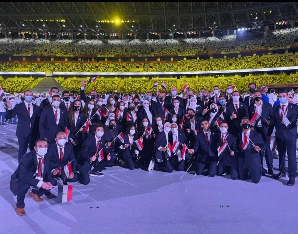 أولمبياد طوكيو - البعثة المصرية