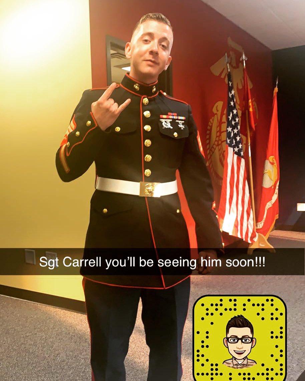 Welcome Sgt Carrell newest Marine RSS Cedar Falls!! #newbeginnings #newstart #marines #USMC https://t.co/Hg0RI9lCQP