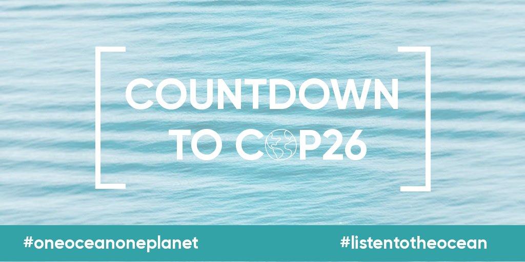 Arranca la cuenta regresiva para la #COP26. Escuchemos al océano y a la ciencia y coloquemos la #AcciónClimáticaParaElOcéano en el centro de la Conferencia de las Naciones Unidas sobre el clima @COP26 @UNFCC 31 de oct. - 12 de nov. https://t.co/3lRYNtSQW6 #ListenToTheOcean 🐚 https://t.co/Tah66yrIeL