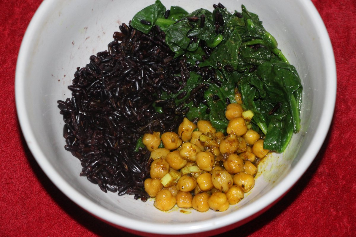 I curried chick peas for dinner last night & steamed organic spinach, black rice & wild rice & sprinkled Palestinian za'atar on the garbanzos in solidarity with Silwan, Sheikh Jarrah & Gaza; support #BDS to #SaveSheikhJarrah & #FreePalestine from #ApartheidIsrael~! https://t.co/6Lqr9rRAOJ