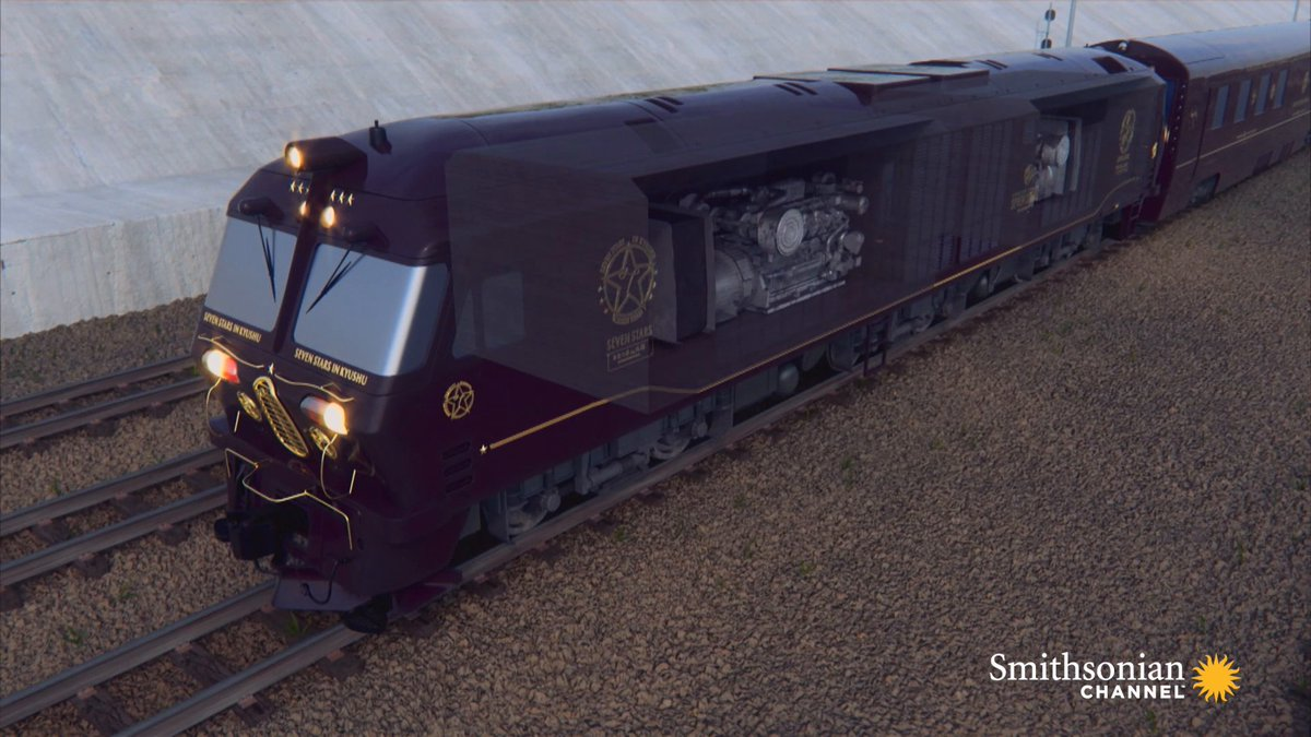 This highly sought-after luxury sleeper train only has 30 tickets available per trip, and some wait years for tickets!   We're talking about the Seven Stars of Kyushu in Japan. A new episode of Mighty Trains airs this Sunday at 8 PM. https://t.co/xFhHlQJakw