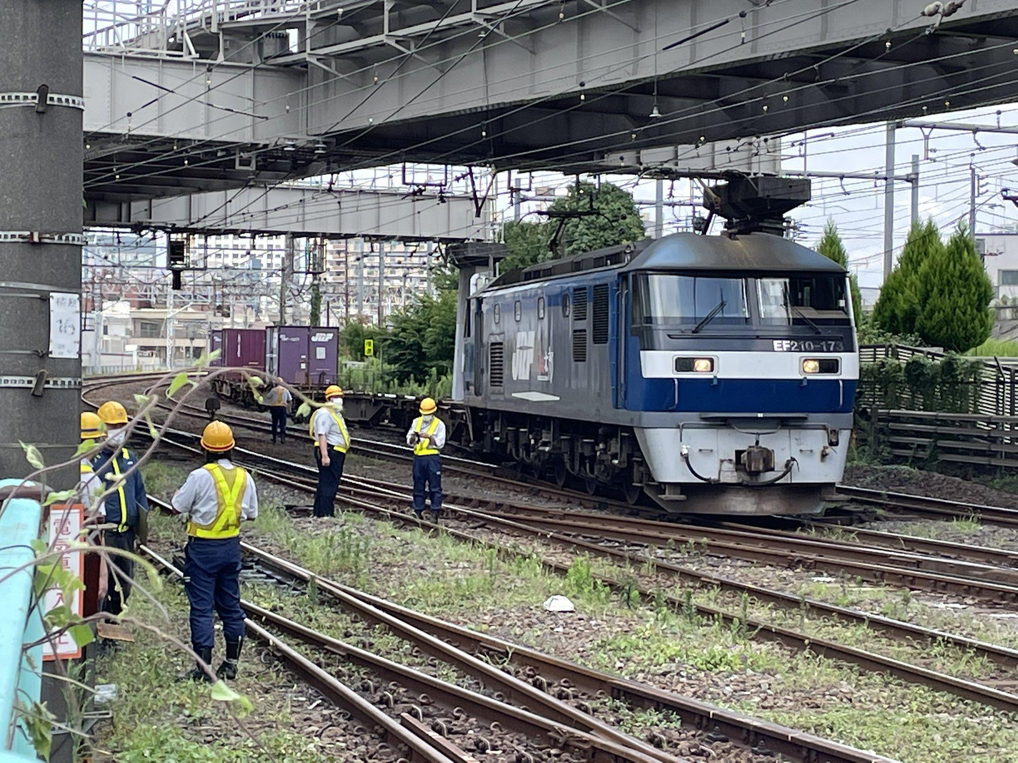 【脱線事故】JR貨物隅田川駅で発生 信号設備を破壊