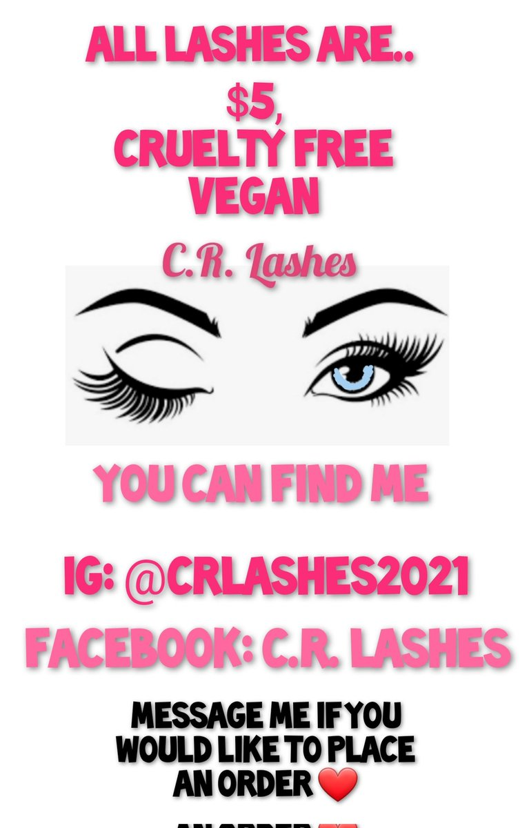 I take PayPal, Venmo and Cashapp  #falslashes #fauxminklashes #curltyfree #vegan #crlashes2021 #makeupartistsworldwide  #smallbusiness #indiebrand #makeup #makeuplovers #lashes #womenownedbusiness #mue #mua #everydaylashes #biglashes #lashesfordays #lashlovers #lashesforeveryone https://t.co/1CCO5Cqroh