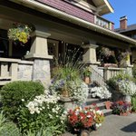 Classic heritage vancouver home. Built in 1907.  Great curb appeal.  @vancouverlawnandgarden. #heritageyvr