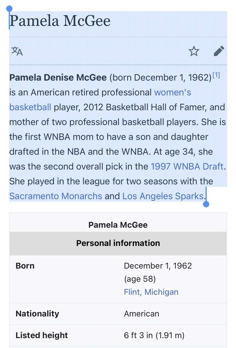 Javale's Mom. Pam McGee. https://t.co/xDO5g5LyYK https://t.co/Gm7uezAiZE