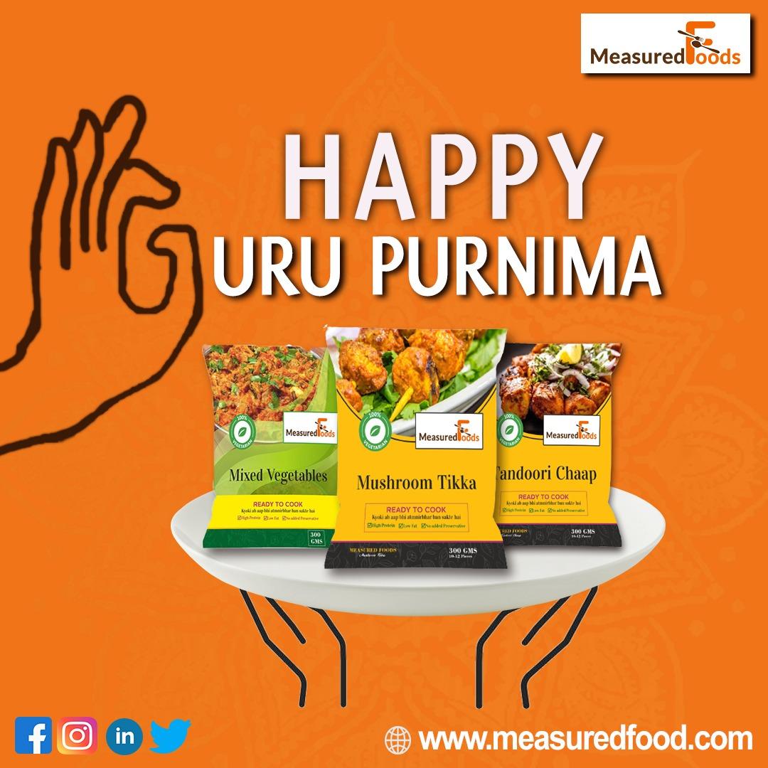 Guru Purnima will be very special for all foodies. May your guru deliver a serenity speech to you & similarly Measured Food is serving you the  pious in food.  #PureFoodPureThought.  #gurupurnima #guru #guruji #india #gurujisadasahay #gurujibademandir #love #happygurupurnima https://t.co/inSGVxubAL