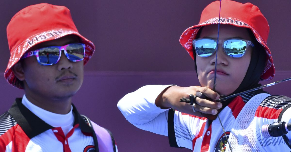 Archery-U.S. pair ousted in surprise loss to Indonesia https://t.co/LDzoSCYaNa https://t.co/PGayB4hI41