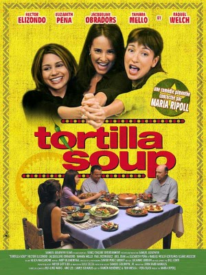 """""""No, I can't. Okay, I have to finish this report./You can't take a couple of hours off?/Well, I know it's Sunday Jeff, but I'm evaluating a shipping company for this client in Barcelona...""""--Tortilla Soup  So Far:🍜 guy making soup, lady on phone  #Movies #AmazonPrimeVideo #Films https://t.co/PhSoYpiqSU"""