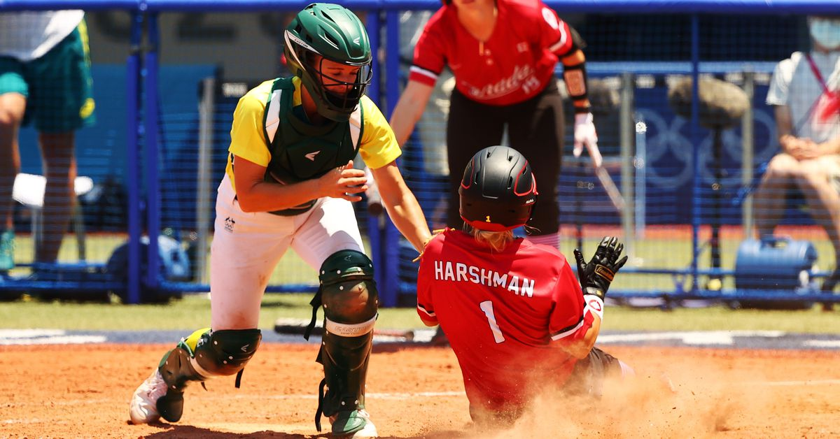 Softball-Canada seize on Australian gaffes in 7-1 win https://t.co/8sVE5oVi7S https://t.co/Ee6EcEr2wS