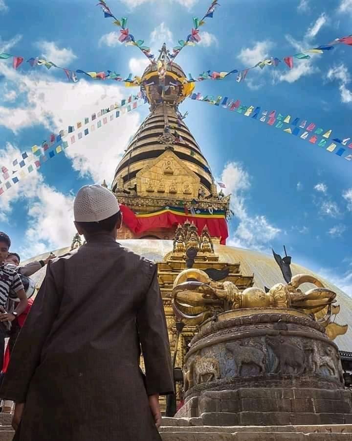 Swayambhunath 🙏😍 🇳🇵 . . . . . . . . . 📸AnilShrestha #xplorephotography #photography https://t.co/De8njvr5J6