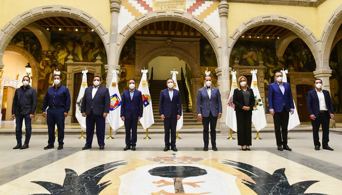 Como Gobernadora electa de #Chihuahua visité el estado de #Durango donde me reuní con mis colegas Gobernadores de @AccionNacional.   Felicito a @AispuroDurango y le externo todo nuestro apoyo para presidir la @GOAN_MX https://t.co/8p4t7yQQ7P