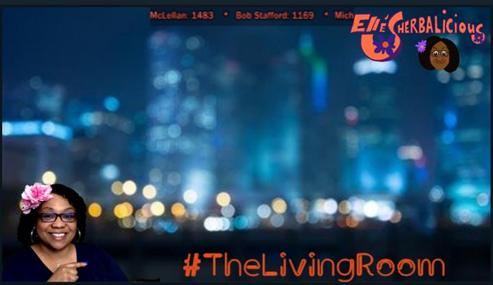 Ellé Sherbalicious in #Thelivingroom - we're always chatting! #godofwar3 tonight...got to catch up! #streamergirl #stream #streaming #streamers #streaminglive #blackgirlgamers #beautiful #nerdgirl #igotgame https://t.co/8WvvUyB6JD
