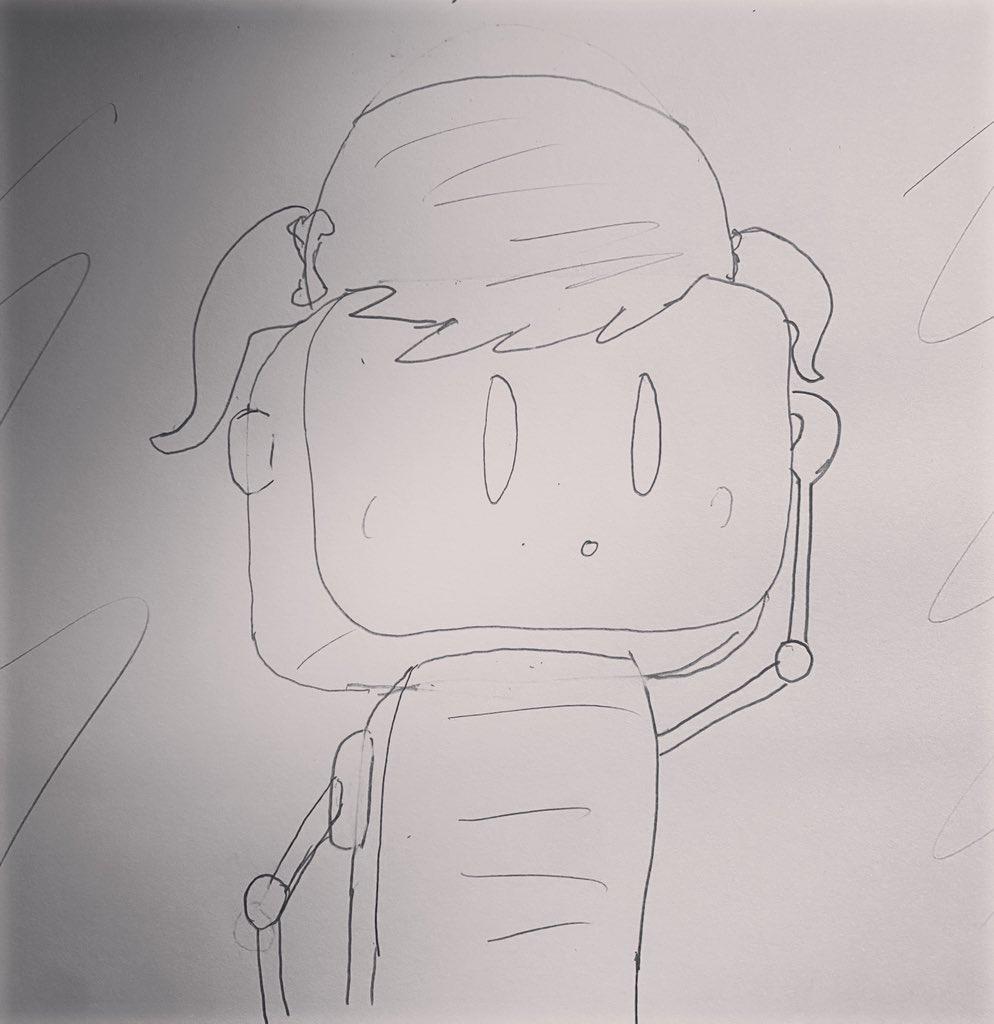 """Robot with fancy hair""  #drawing #art #artist #sketch #illustration #draw #artwork #digitalart #painting #artistsoninstagram #photoshop #sketchbook #drawings #instaart #love #arte #artoftheday #portrait #design #sketching #ink #doodle #digitaldrawing #cute #pencildrawing #pencil https://t.co/92TgYoBby3"