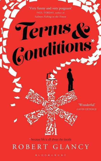 Robert Glancy's TERMS & CONDITIONS is an ingeniously told, fast-paced, #funny novel filled with colourful, audacious characters and heartfelt drama. @RobertGlancy #mustread  *️⃣ >> https://t.co/FHrHt026y9 https://t.co/dYxH4eI8Xg