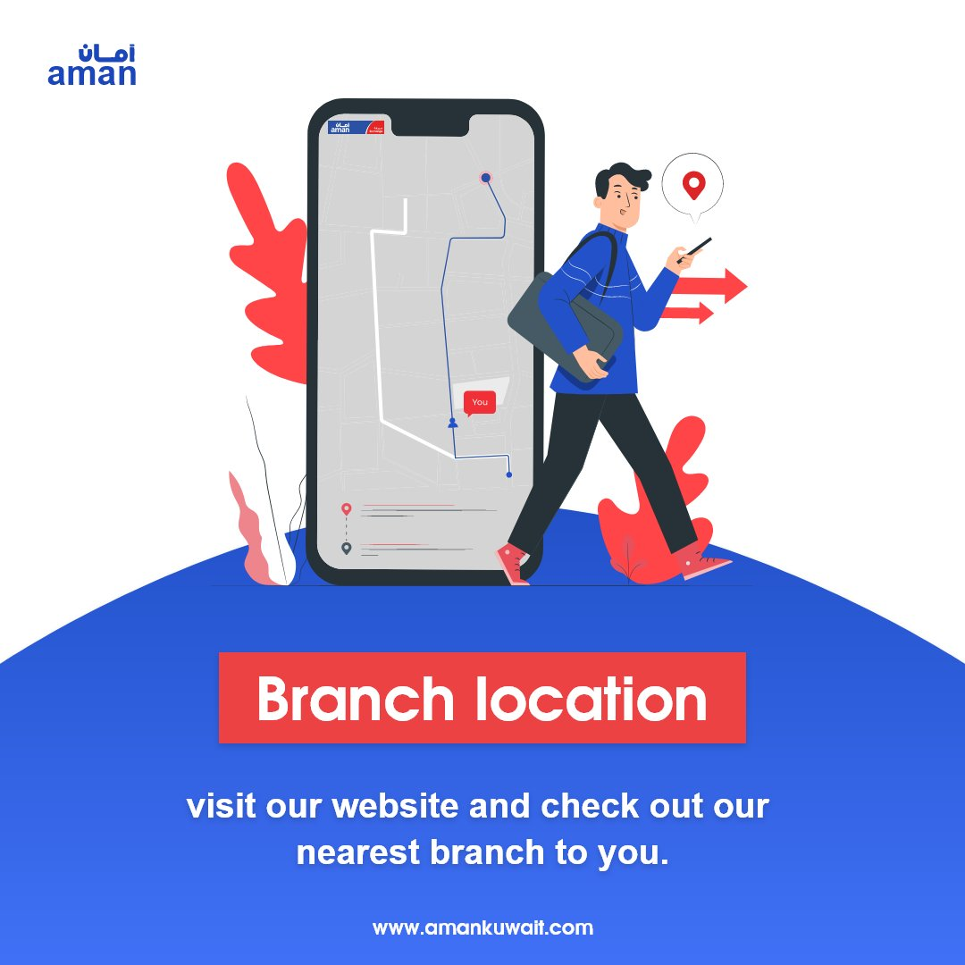 Visit our website and check out our nearest branch to you.  #aman #transfer #money #exchange #rates #online #services #kuwait #expatsinkuwait https://t.co/kgUcDd2VtV