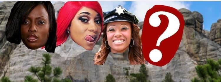 Pinky can't be on the Mount Rushmore if she ain't a 3 hole queen. So replace her with Beauty Dior and add Jazmine Cashmere https://t.co/FkjHRbwkv6