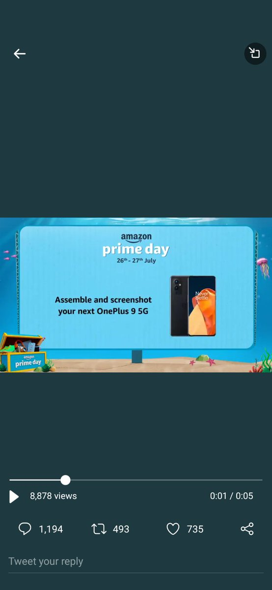 @amazonIN #Contest I Just Assembled n Here is my Perfect Screenshot of OnePlus 9 5G  #SmartphonesOnAmazonPrimeDay #AmazonPrimeDayOnePlus95G #AmazonPrimeDay @amazonlN https://t.co/ermNluAlf2
