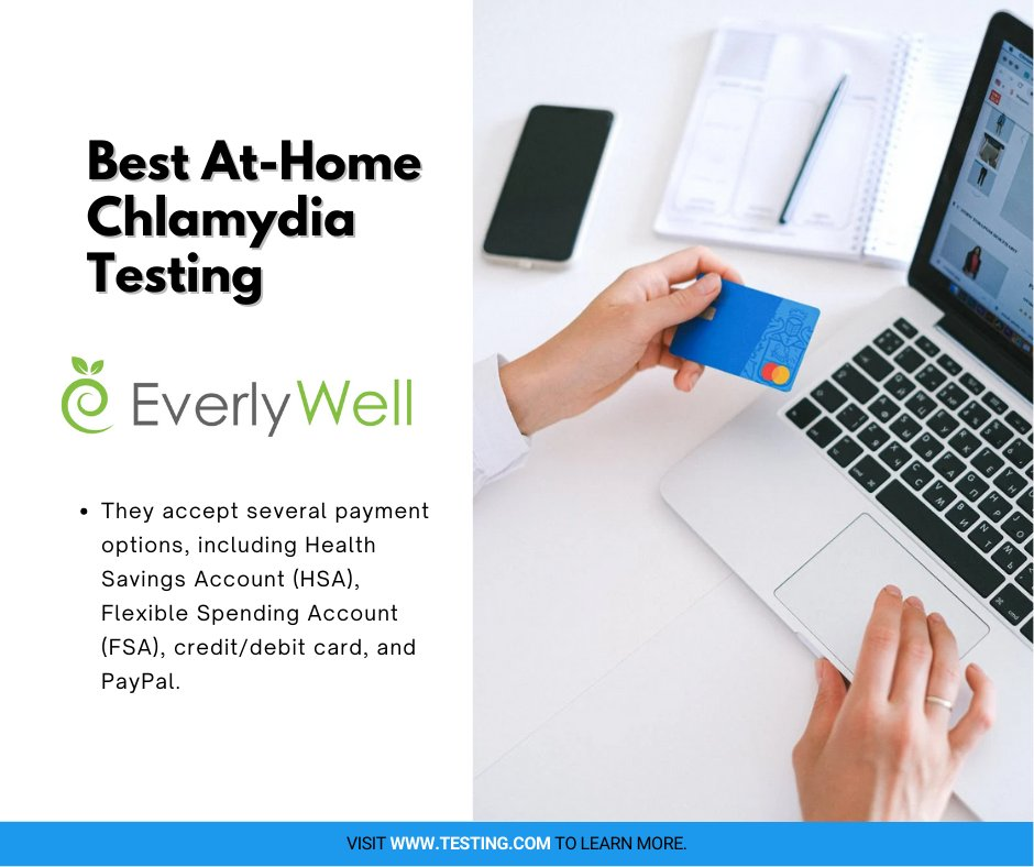 Credit cards, debit cards, and even your PayPal account can be used to pay for STD testing kits by EverlyWell.  #healthchecks #LetsGetChecked #Healthtesting #health #nutrition #wellness #healthy #Testing https://t.co/Hje5vW6dOG