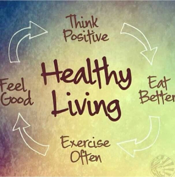 To achieve healthy living, think positive, eat better, exercise often (even taking a walk), and feel good about yourself. ~ #Health #Wellness https://t.co/9GTxiYuJeN