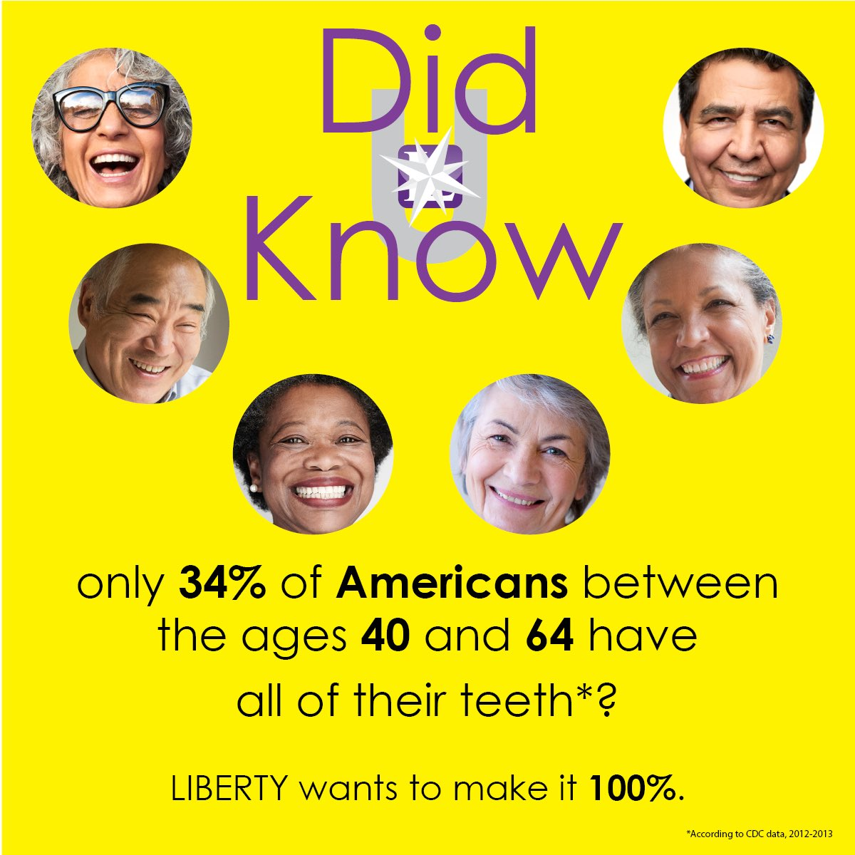 With proper care and regular visits to the dentist, your teeth should last a lifetime.   Have you seen your dentist lately? Let LIBERTY help you get one scheduled! #Dentist #dental #healthy #health #HealthForAll https://t.co/b9lAECwh70