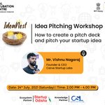 Image for the Tweet beginning: #Ideanest session on 24th July,