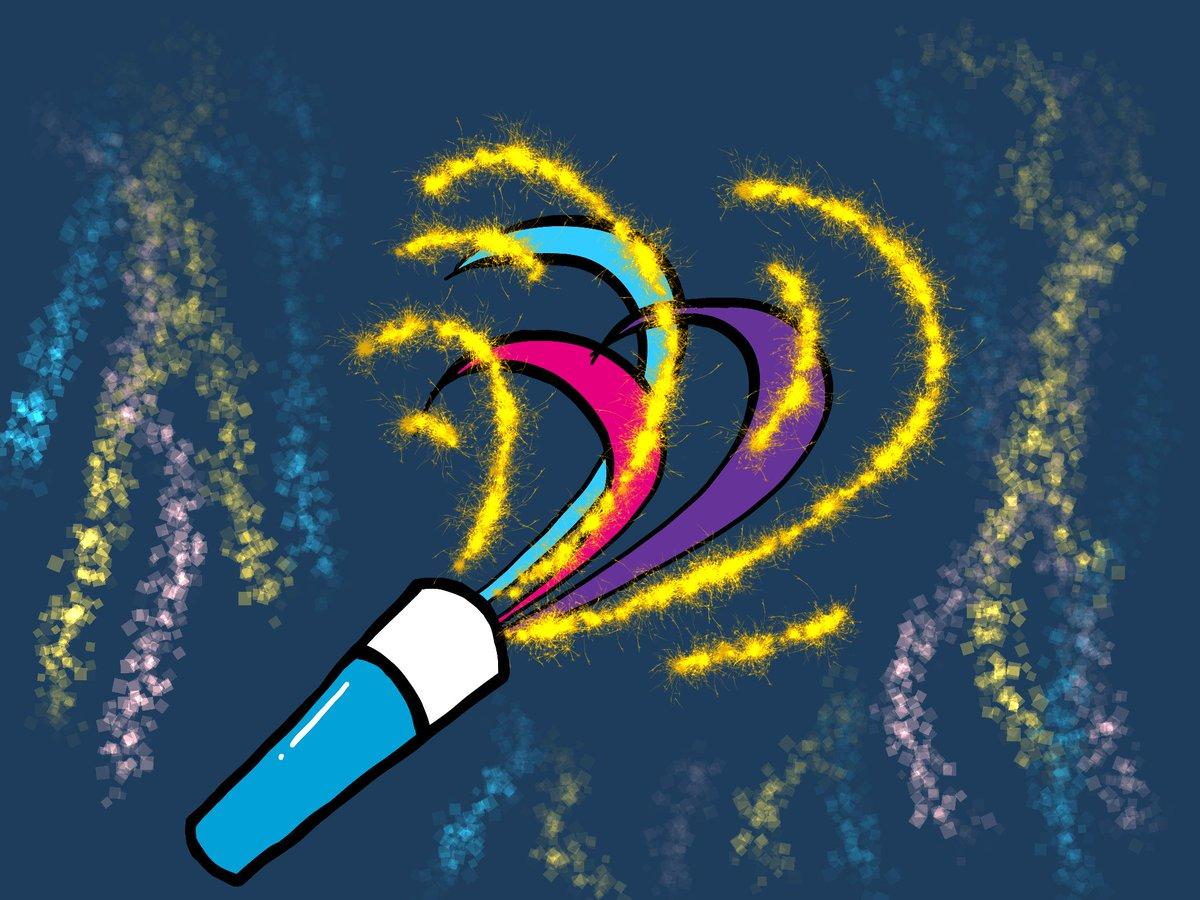 "124. ""Party Favor,"" Sony Sketch, 12/31/2018, 11:58:26 PM.  #art #digitalart #drawing #sketch #artwork #artistsontwitter https://t.co/MWIc33uU4a"
