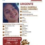 Image for the Tweet beginning: #AlertaAlbaKeneth | ⚠️ Maria Gabriela
